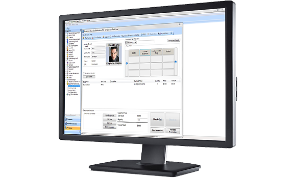 Equipment Check-Out Software Management Software