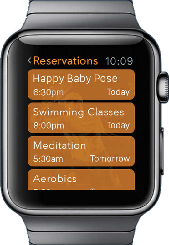 Apple Watch Reservations